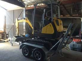 Wacker Neuson ET18 VDS canopy excavator/trailer package - picture14' - Click to enlarge