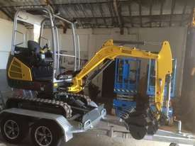 Wacker Neuson ET18 VDS canopy excavator/trailer package - picture9' - Click to enlarge
