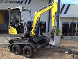 Wacker Neuson ET18 VDS canopy excavator/trailer package - picture3' - Click to enlarge