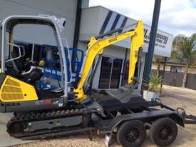 Wacker Neuson ET18 VDS canopy excavator/trailer package - picture8' - Click to enlarge