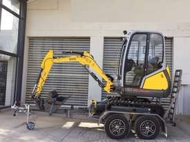 Wacker Neuson ET18 VDS canopy excavator/trailer package - picture0' - Click to enlarge