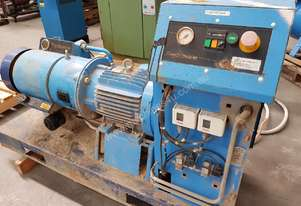 HYDROVANE 11KW 15hp PORTABLE AIR COMPRESSOR, SKID MOUNTED, Super Quiet, Suit Building Sites