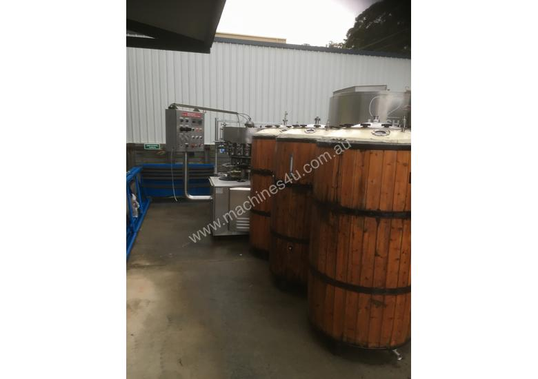 Brewery and bottling equipment
