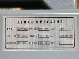 Ashita KYW3090-500 500 Litre Air Compressor  - picture7' - Click to enlarge