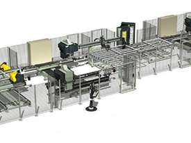 Integra Q1-Q2 Corner Welding and Cleaning Line for PVC Profiles  - picture0' - Click to enlarge
