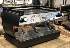 LA MARZOCCO GB5 2 GROUP BLACK ESPRESSO COFFEE MACHINE