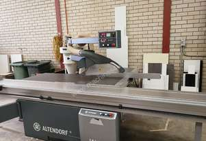 Altendorf Panel Saw WA8 (3.8m) +  Dust Extractors (2 years old only)