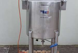 Dimple Jacketed Scrape Surface Mixing Tank