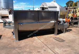 Twin Ribbon Jacketed Ribbon Blender