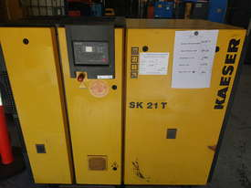Kaeser SK21T Air Compressor - picture3' - Click to enlarge