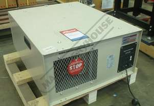 AP-12 Two Stage Air Filtration Unit  1044cfm Air Flow Capacity, 1 Micron Filtration System