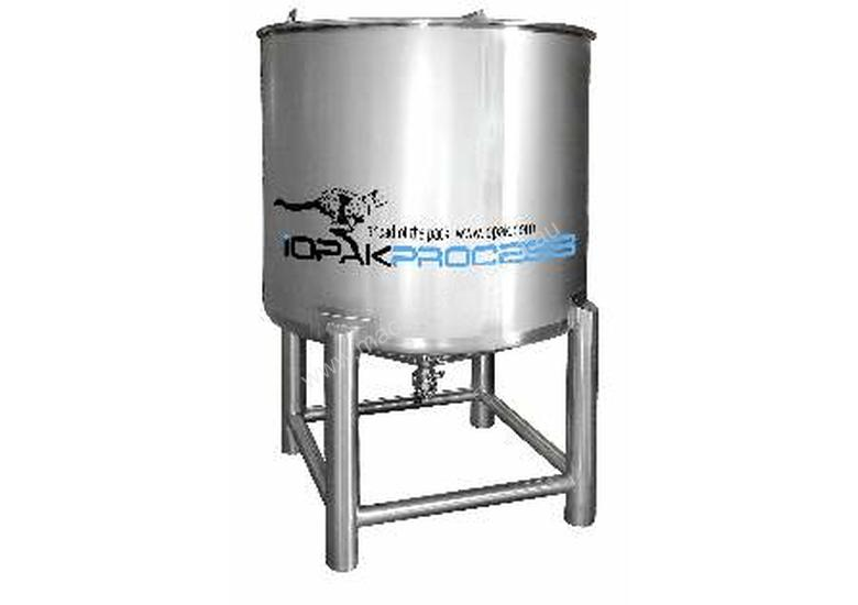 NEW 1000L Holding Tank (conical bottom, lids & 2