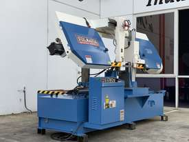 Heavy Duty Industrial Twin Column Bandsaws 500mm x 500mm With Swarf Conveyor - picture8' - Click to enlarge