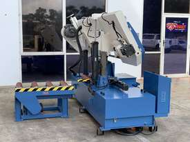 Heavy Duty Industrial Twin Column Bandsaws 500mm x 500mm With Swarf Conveyor - picture18' - Click to enlarge