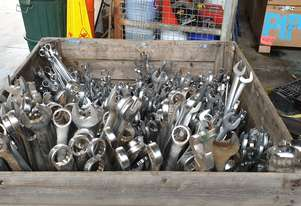 Urrea 42mm Metric Spanner Wrench Ring / Open Ender Combination 1242MA
