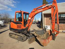 2018 KUBOTA KX91-3 EXCAVATOR WITH FULL A/C CABIN, 170 HOURS - picture0' - Click to enlarge