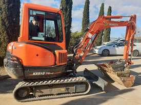 2018 KUBOTA KX91-3 EXCAVATOR WITH FULL A/C CABIN, 170 HOURS - picture1' - Click to enlarge