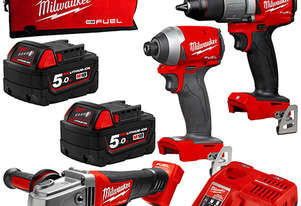 HAMMER DRILL,IMPACT DRIVER, GRINDER KIT