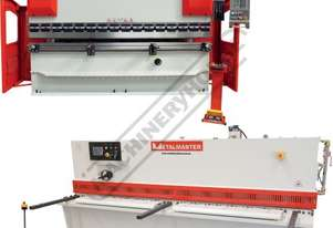 SG-3206E & PB-135B Hydraulic NC Guillotine & NC Pressbrake Package Deal Guillotine - 3100 x 6mm, Pre