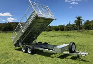 Ozzi 14x7 Flat Top Tipper Trailer