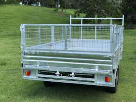 Ozzi 14x7 Flat Top Tipper Trailer - picture2' - Click to enlarge