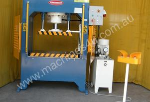 NEW Hydraulic H Frame Press With Laser Guards