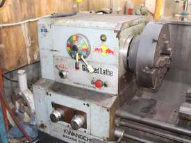 KWANGCHONG Gap-Bed Lathe - picture2' - Click to enlarge