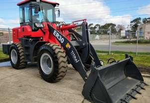 TitanTL30 Wheel Loader - 125HP, 3000kg Capacity, 4 Speed Transmission