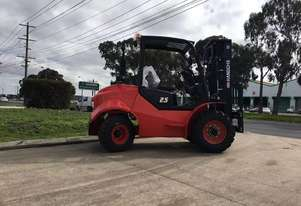 Brand New Hangcha 2.5 Ton Two Wheel Rough Terrain Forklift