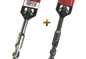 Milwaukee SDS-plus set Masonry Concrete Drill Bit 15mm x 160mm, 16mm x 160mm