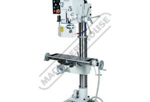 DMF-44 Pedestal Mill Drill - Geared & Tilting Head Table Travel: (X) - 480mm (Y) - 200mm (Z) - 850mm