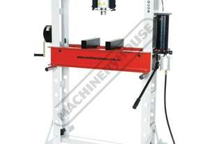 HP-45P Workshop Hydraulic & Pneumatic Press - 45 Tonne CNC Welded Steel Frame Construction Includes