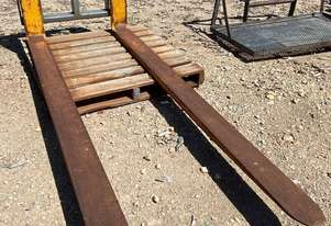 Fork Attachment, 2400mm L tynes