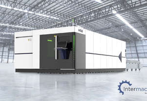 HSG 6025H 6kW Fiber Laser Cutting Machine (IPG source, Alpha Wittenstein gear)