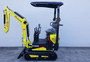 1T Haihong OUT OF STOCK Mini Excavator Swing Boom & Adjustable Tracks