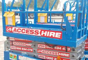2013 GS1932 Genie Electric Scissor Lift in Great Condition