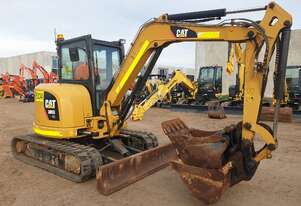 CAT 305E 5T EXCAVATOR WITH LOW 2607 HOURS