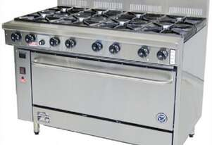 Goldstein PF828 - 8 Gas Burner With Oven