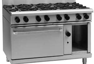 Waldorf 800 Series RNL8813GC - 1200mm Gas Range Convection Oven Low Back Version