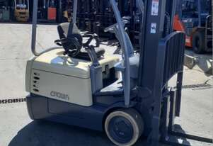 Crown forklift for sale-3 wheel electric 6120mm lift height 1.6 Ton