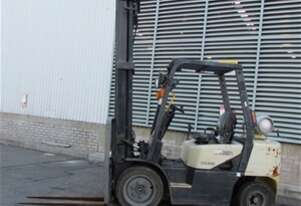 Crown 3T 4 Wheel Counterbalance Forklift