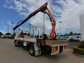 2009 HINO FG 500 - Truck Mounted Crane - 1527 - Tray Truck - Tray Top Drop Sides - picture1' - Click to enlarge