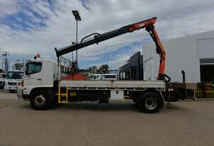 2009 HINO FG 500 - Truck Mounted Crane - 1527 - Tray Truck - Tray Top Drop Sides