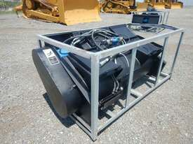 Hydraulic Concrete Mixer to suit Skidsteer Loader  - picture0' - Click to enlarge