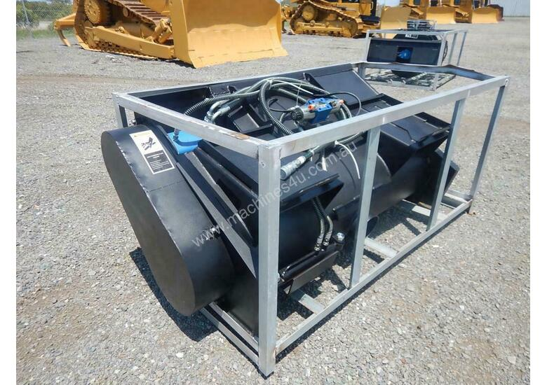 Hydraulic Concrete Mixer to suit Skidsteer Loader