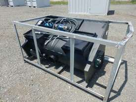 Hydraulic Concrete Mixer to suit Skidsteer Loader  - picture1' - Click to enlarge