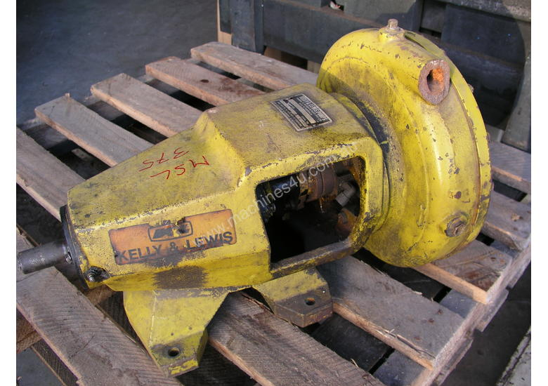 Used Kelly Amp Lewis Kelly Lewis Centrifugal Pump Model 70