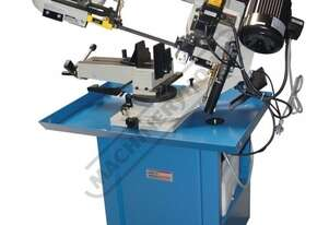 BS-7DS Swivel Head Metal Cutting Band Saw Dual Mitre Cuts Up To 45º, Quick Action Material Clamp &
