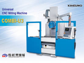 KIHEUNG Bed  Milling Machine -Combi U3 - picture2' - Click to enlarge