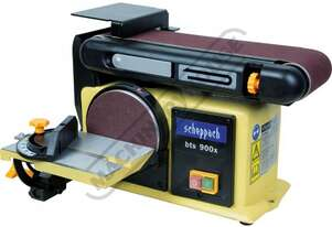 bts 900x Belt & Disc Linisher Sander Vertical or Horizontal Linishing Position 100 x 915mm (W x L) B
